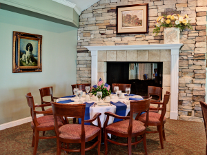 Keowee Key Clubhouse dining room
